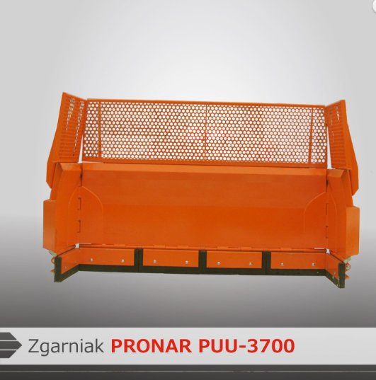 Zgarniak PRONAR PUU-3700